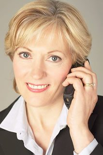 Science Businesswoman talking on cell phone 21 - Employee Benefits
